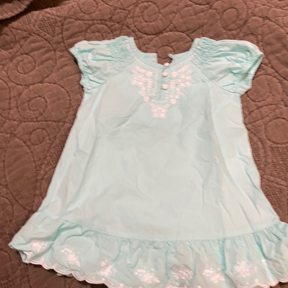 Embroidered baby gap dress